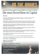 Die neue DinnerShow im Capitol