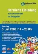 Sommerfest  bei der Lebenshilfe Mannheim 5. Juli